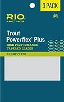 Rio Powerflex Plus Fly Fishing引出線3- Pack