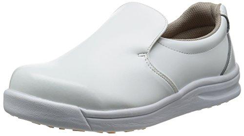 [ノサックス] Nosacks 厨房靴  グリップキング GKW-W W(白/22cm)
