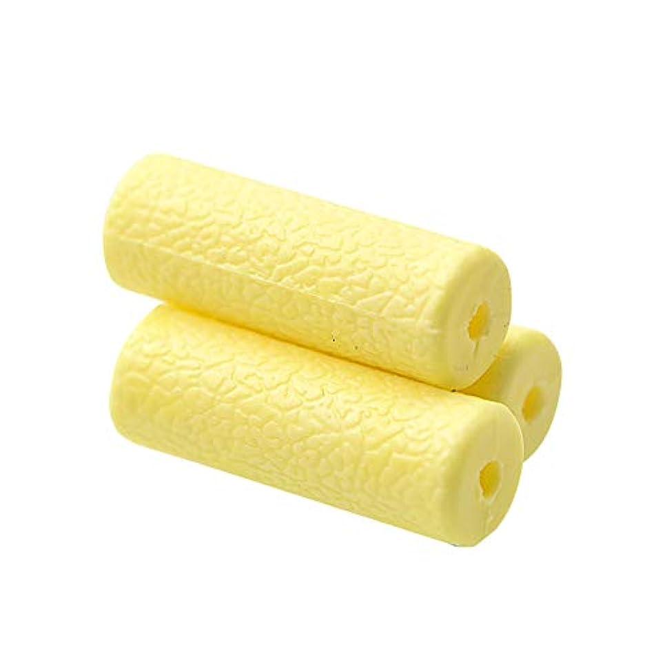 概念鉛筆国籍Oral Dentistry 歯列矯正器具 目に見えない補正補助 チュー かむ ブレース 口腔ケア 衛生的 使いやすい 3個/ 1箱 (イエロー)