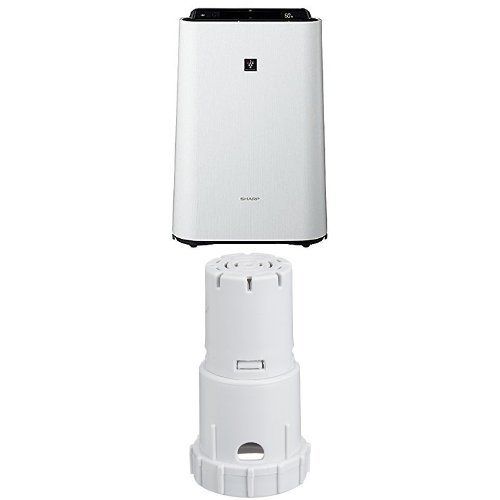 シャープ 加湿空気清浄機 プラズマクラスター搭載 ホワイト KC-F70-W + イオンカートリッジ FZ-AG01K1 セット