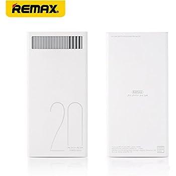 REMAX REVOLUTION POWER BANK モバイルバッテリー 20000mAh RPL-58-WH (ホワイト)