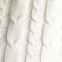 クルーネック ケーブル編み ニット メンズ セーター カラーニット ニットソー 長袖 カジュアル ストリート アメカジ 防寒 秋冬 オフホワイト Mサイズ