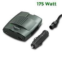 新しいCyberpower 175ワットslim-lineモバイル電源インバーターUSB充電ポート付き