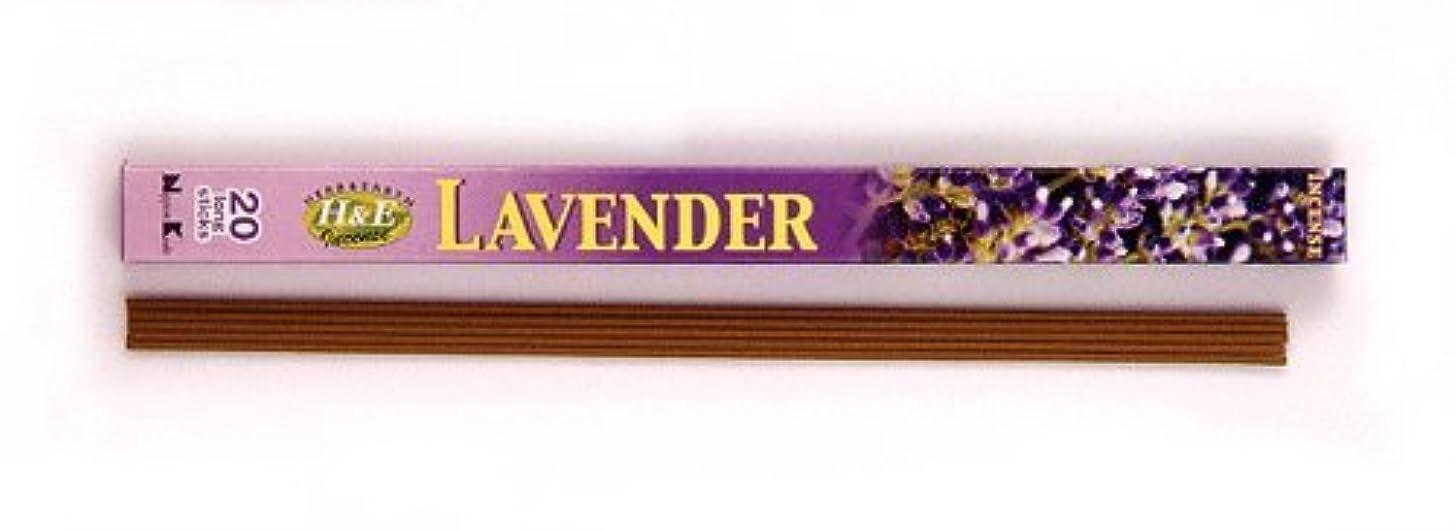 日の出軽食彫るHERB&EARTH Incense LAVENDER ラベンダー スティック 【お香】