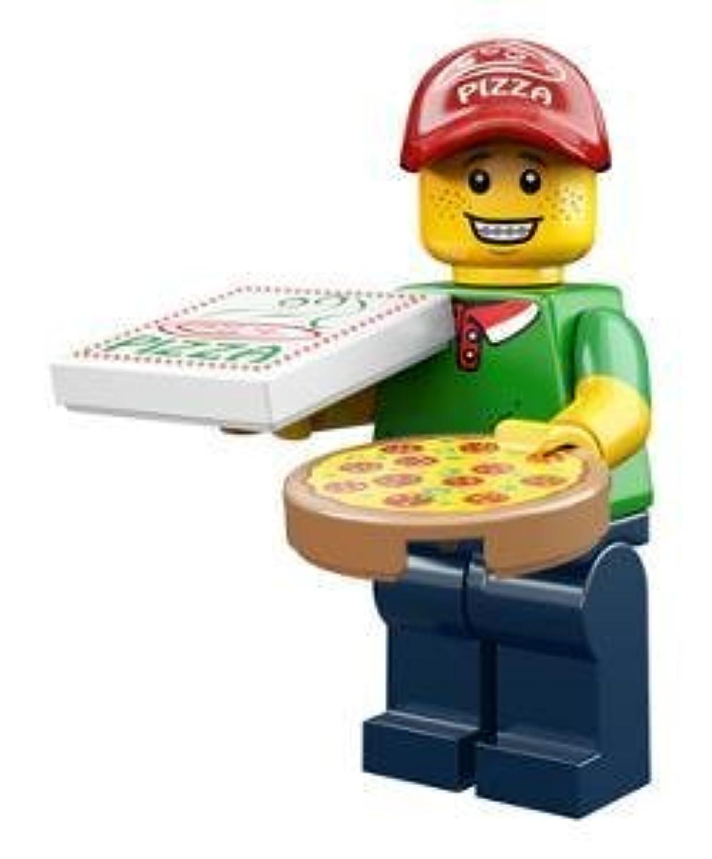 レゴ ミニフィグ【シリーズ12】 Pizza Delivery Guy