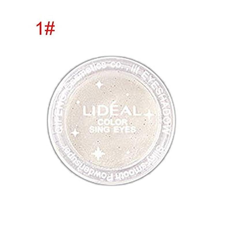 花輪ホバートページモノクロアイシャドー粉末真珠光沢光