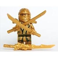 LEGO (レゴ) Ninjago (ニンジャゴー) - The GOLD Ninja with 3 Weapons ブロック おもちゃ (並行輸入)