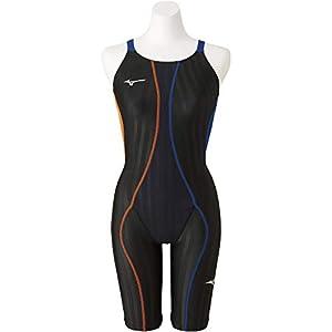 MIZUNO(ミズノ) レース用競泳水着 レディース FX SONIC ハーフスーツ FINA承認 18春夏モデル N2MG823080 ブラック×ブルー M