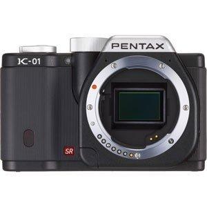 PENTAX ミラーレス一眼カメラ K-01 ボディ ブラック/ブラック K-01BODY BK/BK