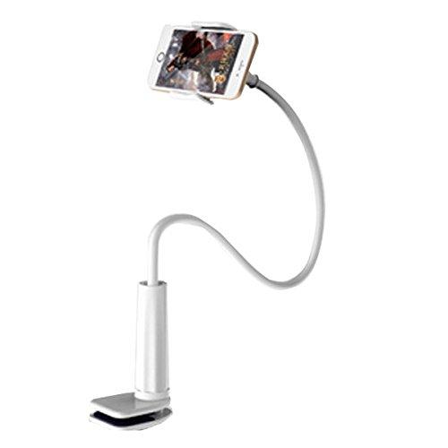 Arjan タブレット スタンド アーム 寝ながら スマホスタンド iPhone iPad air mini 360度回転 角度調整可能 タブレットホルダー フレキシブルアーム (ARD-530W)