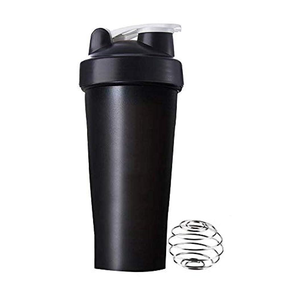 貫通作業ブランクAomgsd プロテインシェイカー 直飲み プラスチックウォーターボトル ジム シェーカーボトル 600ml