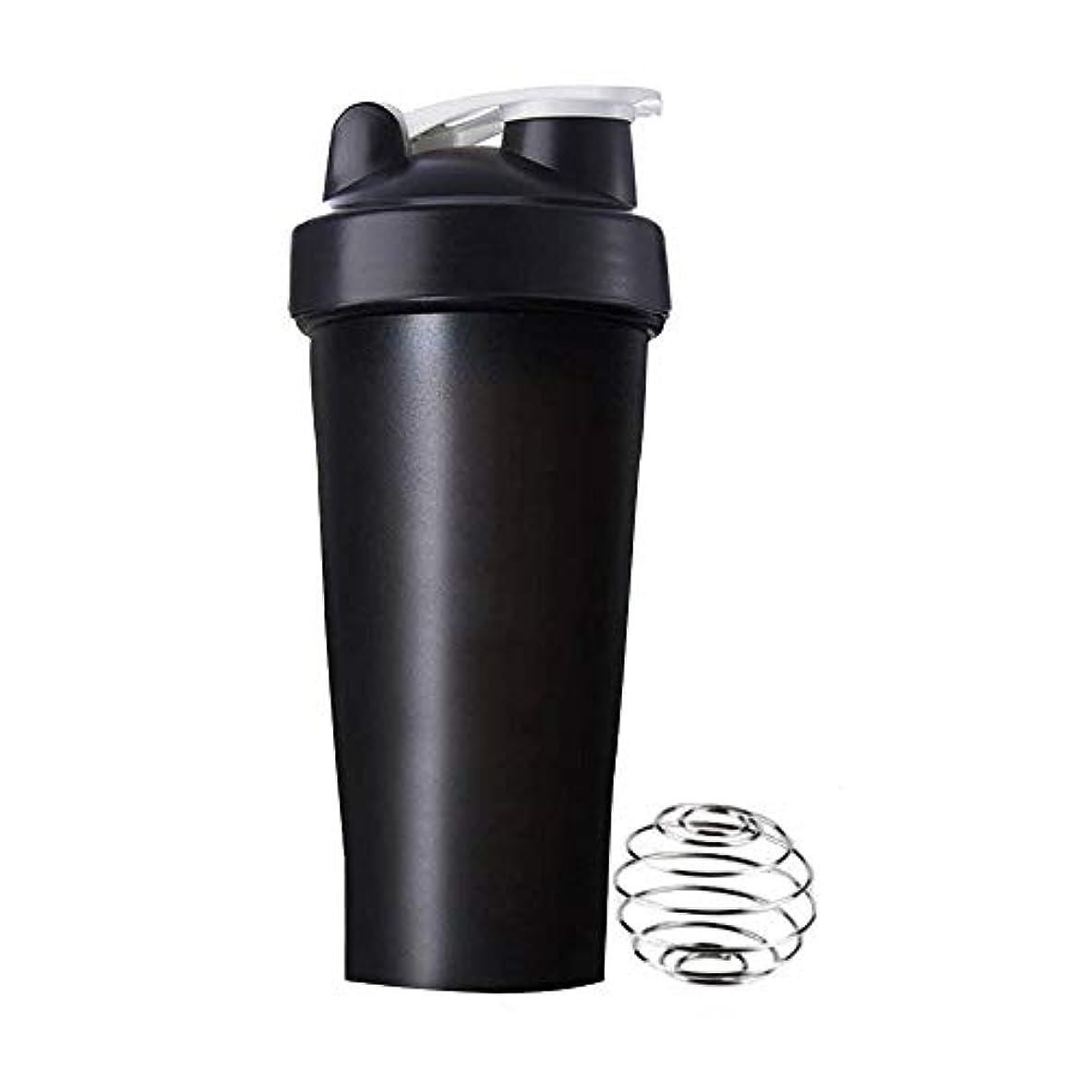 個人的な落ち着かない抵抗力があるSimg プロテインシェイカー 直飲み プラスチックウォーターボトル ジム シェーカーボトル 600ml