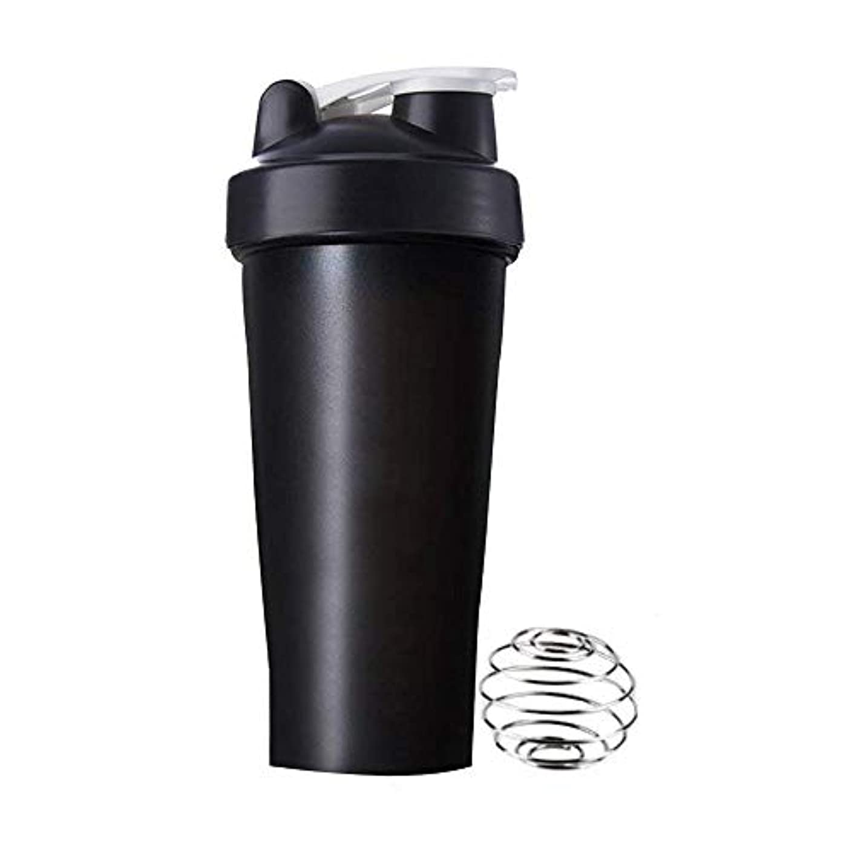 悩む道を作る失望させるAomgsd プロテインシェイカー 直飲み プラスチックウォーターボトル ジム シェーカーボトル 600ml