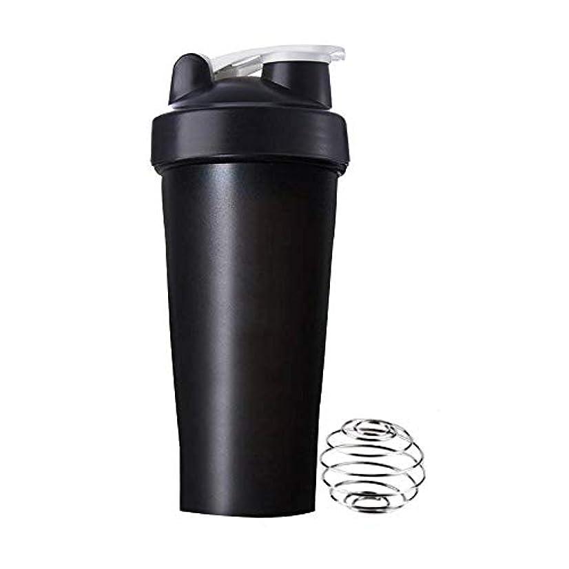 警察運命的なパフRoman Center プロテインシェイカー 直飲み プラスチックウォーターボトル ジム シェーカーボトル 600ml
