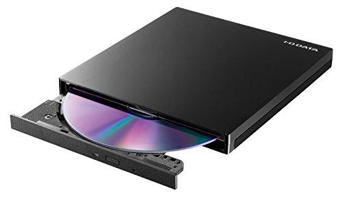 I-O DATA ポータブルDVDドライブ DVRP-UT8C2K (USB3.1 Gen1 Type-C 対応/バスパワー駆動/ピアノブラック)
