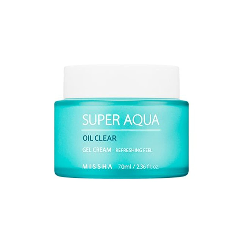 不屈仕立て屋迷信MISSHA Super Aqua Oil Clear Gel Cream 70ml/ミシャ スーパー アクア オイル クリア ジェル クリーム 70ml [並行輸入品]