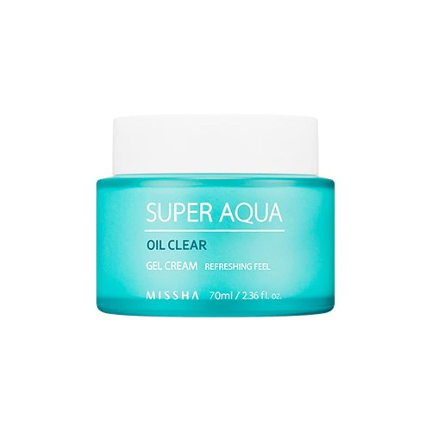 MISSHA Super Aqua Oil Clear Gel Cream 70ml/ミシャ スーパー アクア オイル クリア ジェル クリーム 70ml [並行輸入品]
