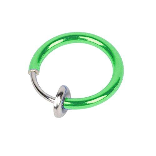 [해외]화려한 가짜 반지 귀걸이/Colorful fake ring earrings
