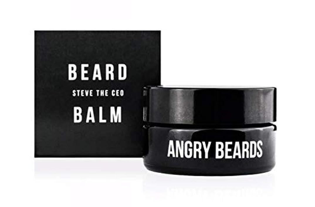 ぬれた本いとこSteve The CEO Beard Balm by Angry Beards 30ml / スティーブザCEOビアードバームbyアングリービアード30ml Made in Czech Republic
