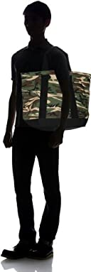 Authentic Canvas Tote Bag Made in USA 118-48-0018: Camouflage