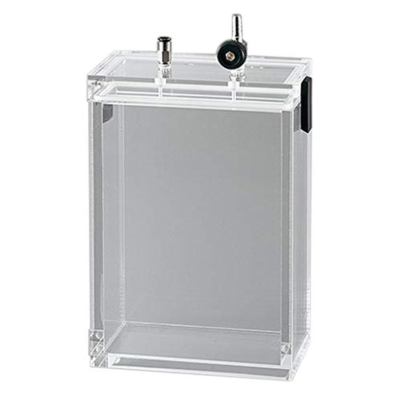パーティションスーツケース商標アズワン 小型真空デシケーター 135×60×200mm /2-4920-09