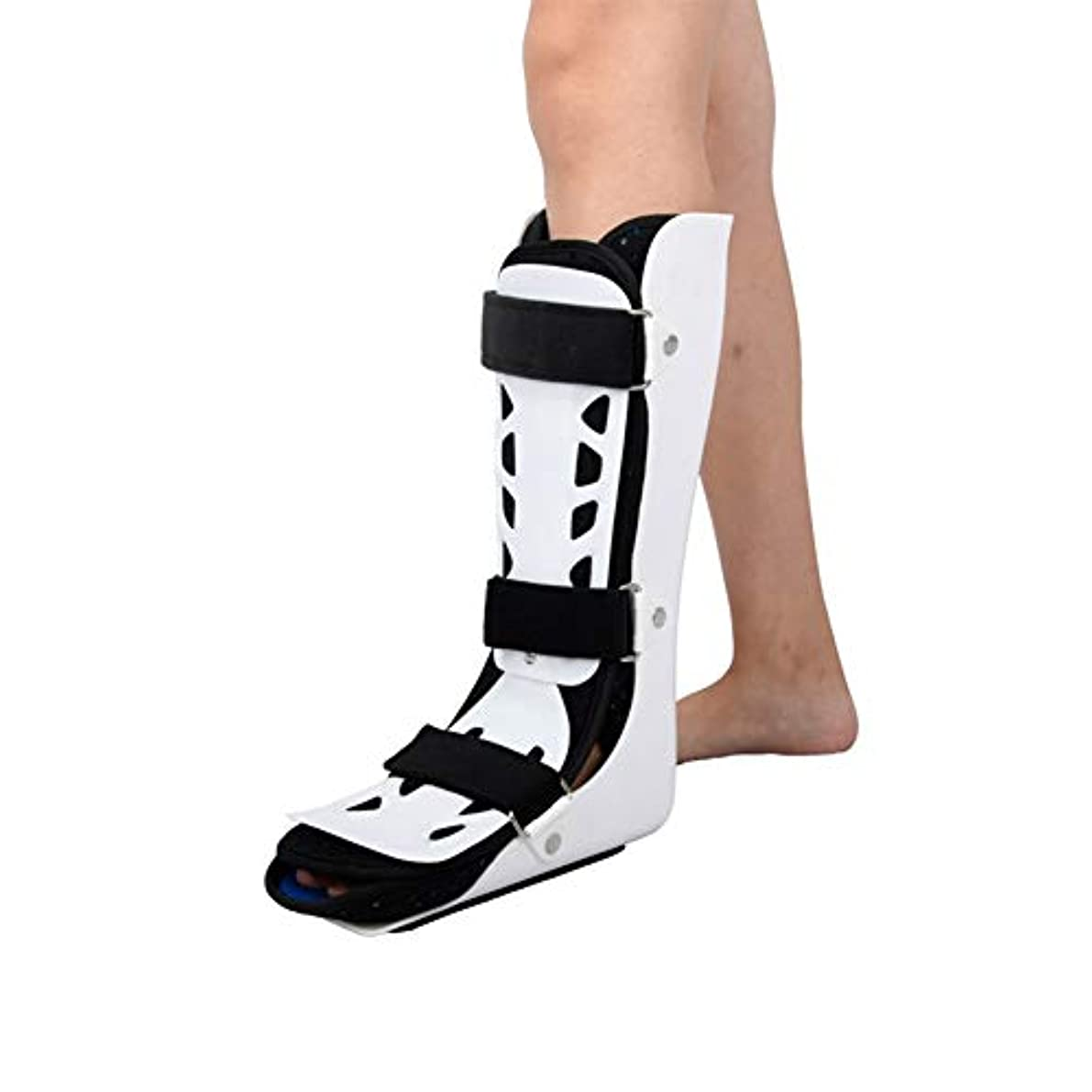 痛いビタミン心のこもった足首サポート アキレス、大人の足首とアキレス腱を骨折し、歩行時の通気性を訓練します。足首を固定します。 (Color : 左, Size : L)