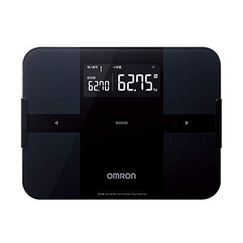 オムロン 体重・体組成計 カラダスキャン スマホアプリ/OMRON connect対応 ブラック HBF-256T-BK