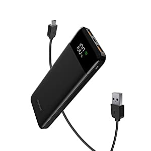 Charmast モバイルバッテリー 10400mAh!