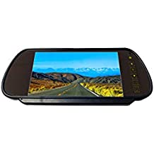 """BOYO VTM700M - Clip-on Rear-View Mirror with 7"""" TFT-LCD Backup Camera Monitor"""