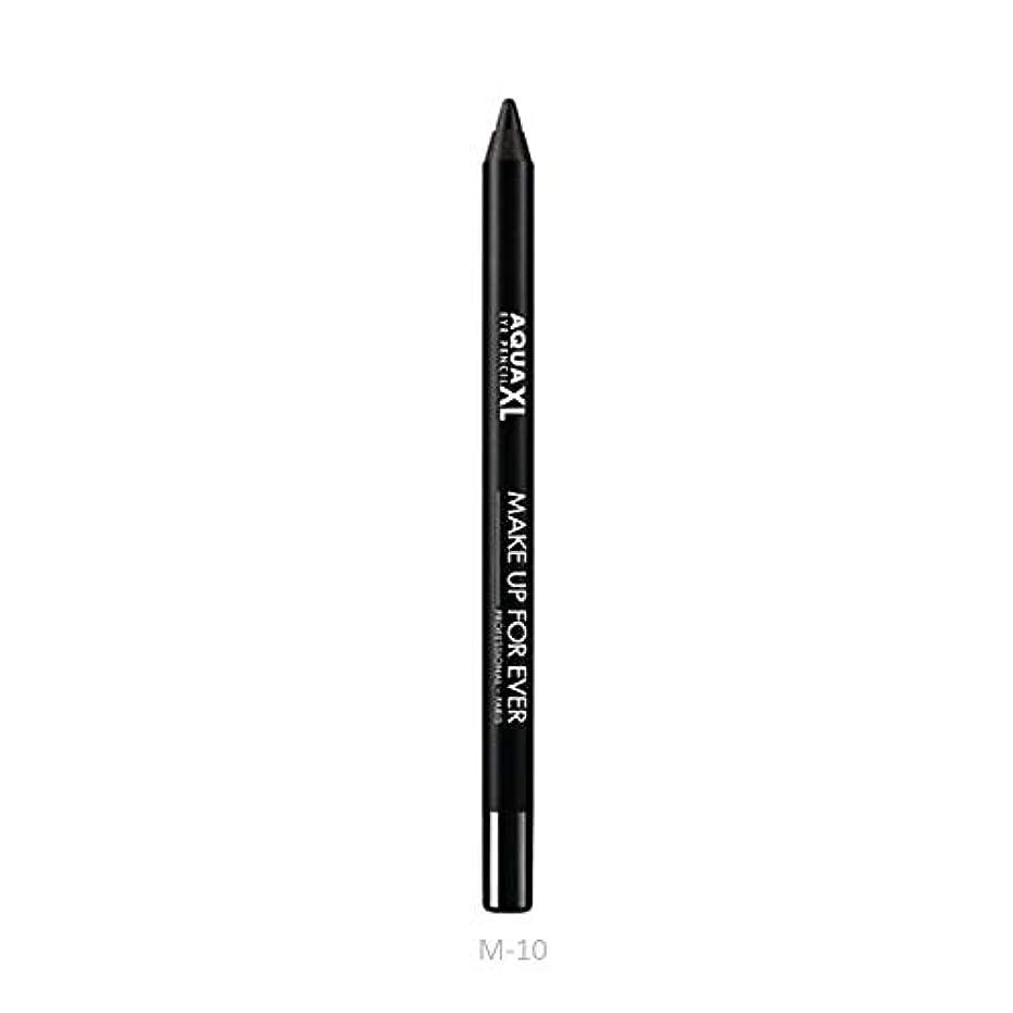 フェード性的蘇生するメイクアップフォーエバー Aqua XL Extra Long Lasting Waterproof Eye Pencil - # M-10 (Matte Black) 1.2g/0.04oz並行輸入品