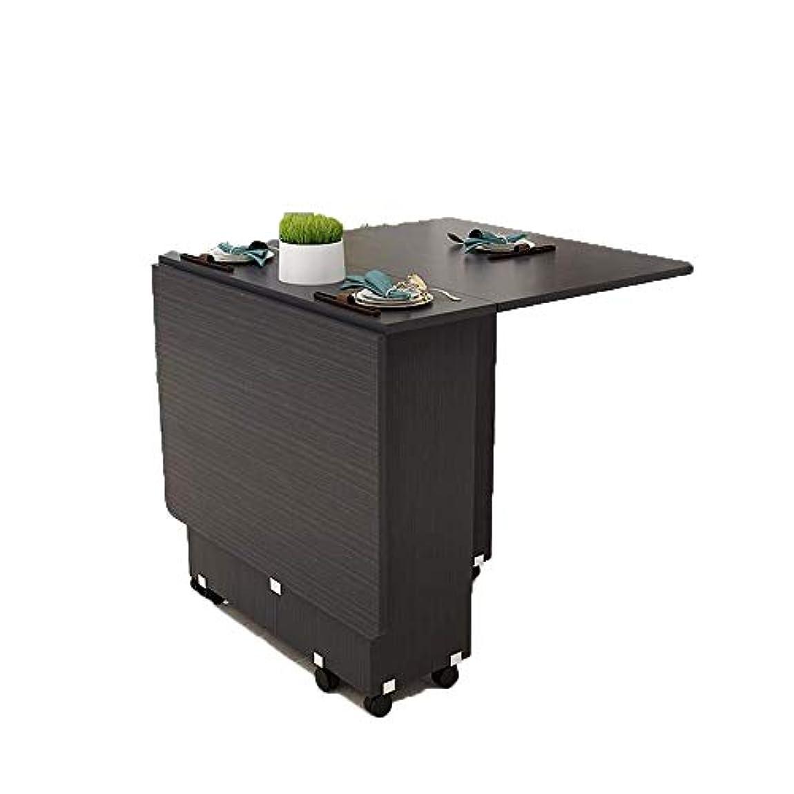 チャンピオン実証する警告BNSDMM 純木のダイニングテーブルおよび椅子の組合せ折るテーブルのダイニングテーブル家の小さいアパートの望遠鏡のテーブル北欧のダイニングテーブル多機能テーブル (Color : D)