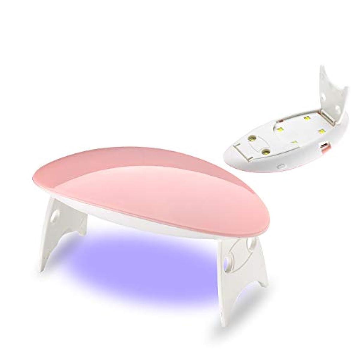 フロント休み弾薬12W ホワイト ネイルドライヤー ネイルデザイン ネイルライト 硬化用ライト ネイルアートツール ピンク