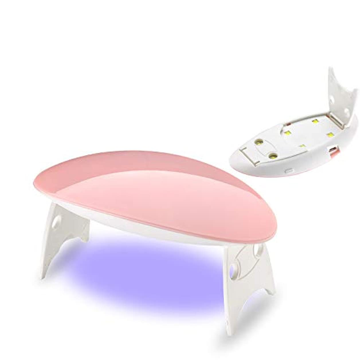 移動合図ウォーターフロント12W ホワイト ネイルドライヤー ネイルデザイン ネイルライト 硬化用ライト ネイルアートツール ピンク