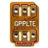 【設定SIM付】GPPLTE SIMロック解除アダプタ docomo/au/SoftBank/UQmobile/YmobileのiPhoneXS/X、iPhone8/8plus、iPhone7/7plus/6s/6s plus/6/6 plus SIMロック解除アダプタ/GPP SIM Unlock SIM下駄 SIMフリー