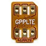 GPPLTE SIMロック解除アダプタ docomo、au、SoftBankのiPhoneXS/X、iPhone8/8plus、iPhone7/7plus/6s/6s plus/6/6 plus SIMロック解除アダプタ/GPP SIM Unlock SIM下駄 SIMフリー