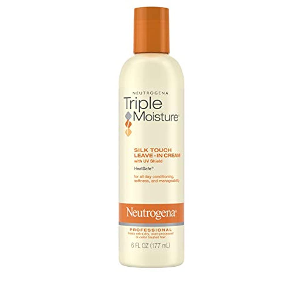 引っ張る有料ラボNeutrogena Triple Moisture Silk Touch Leave-In Cream 175 ml (並行輸入品)