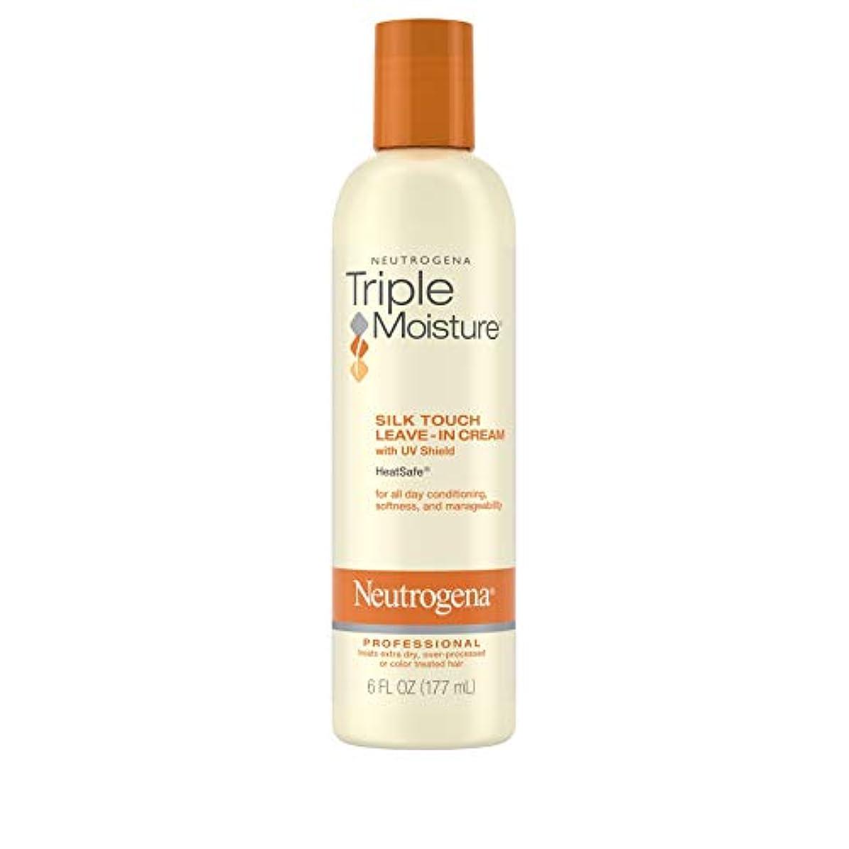 無形状独裁Neutrogena Triple Moisture Silk Touch Leave-In Cream 175 ml (並行輸入品)