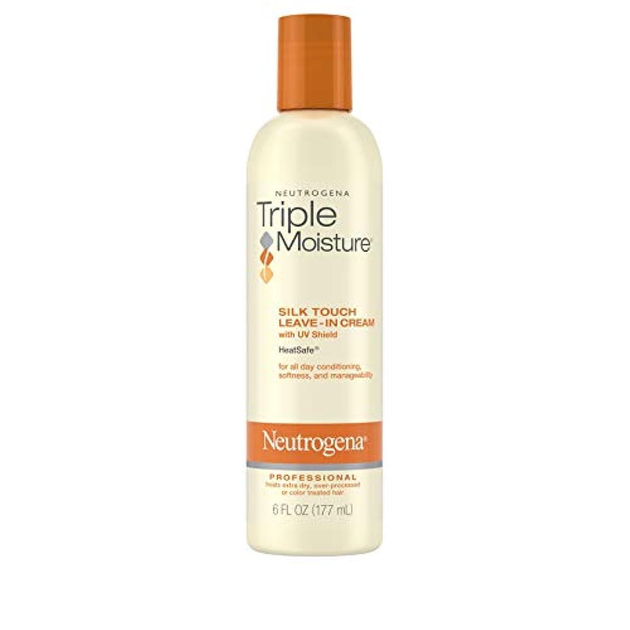 無駄な名詞タンザニアNeutrogena Triple Moisture Silk Touch Leave-In Cream 175 ml (並行輸入品)
