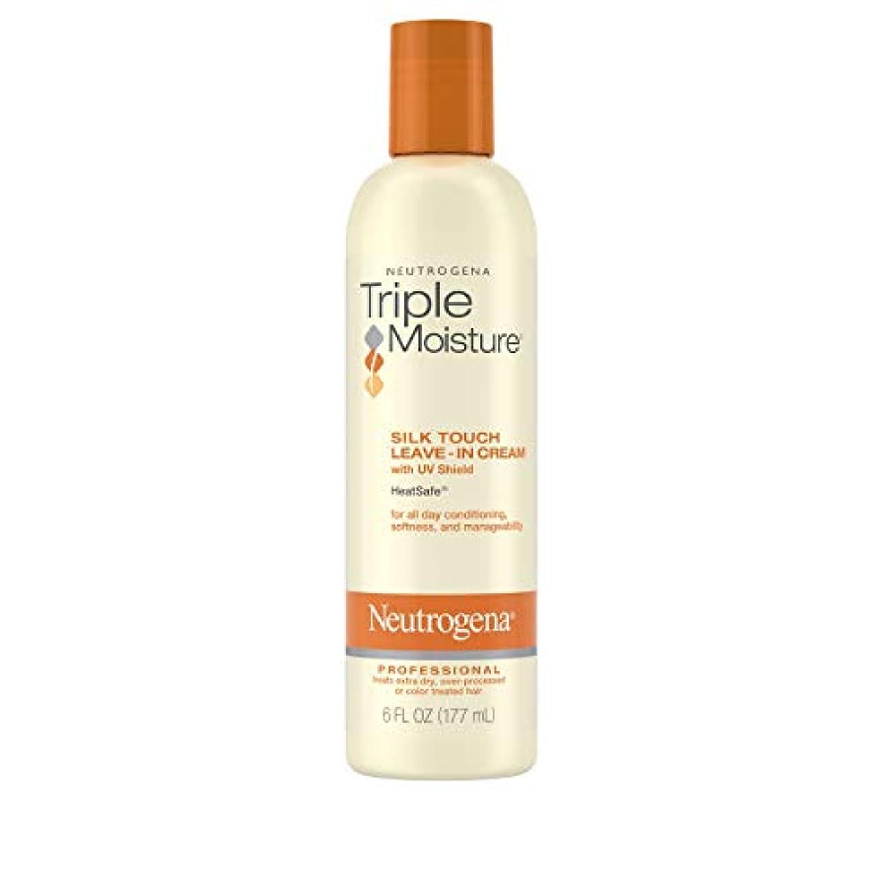 ピアノ悪いカッターNeutrogena Triple Moisture Silk Touch Leave-In Cream 175 ml (並行輸入品)