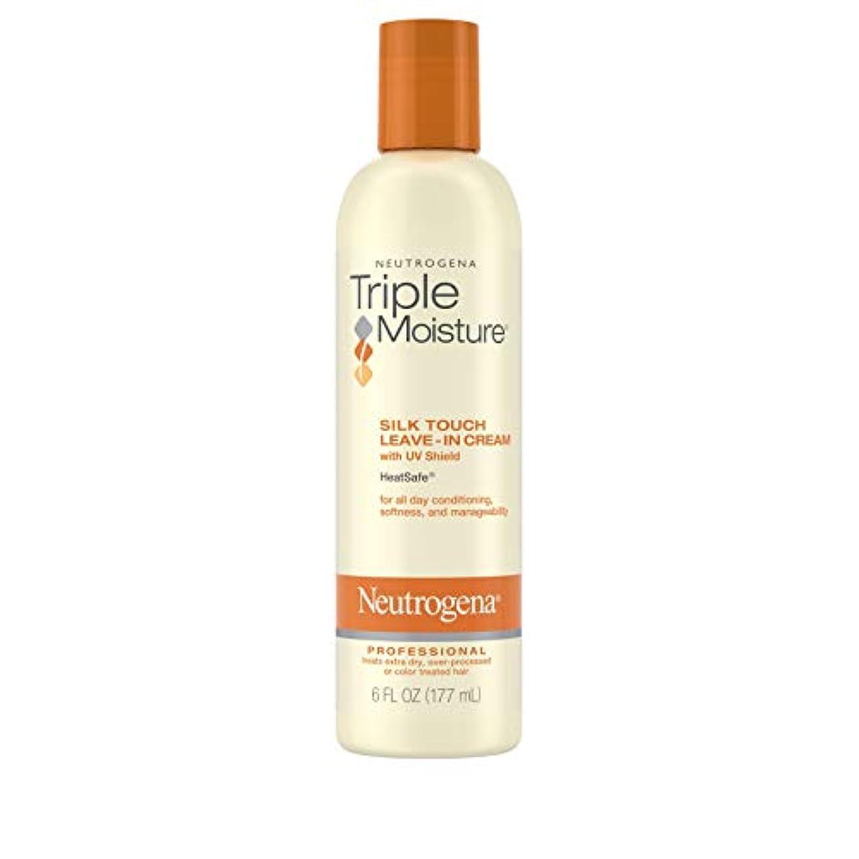 フローティング外国人高潔なNeutrogena Triple Moisture Silk Touch Leave-In Cream 175 ml (並行輸入品)