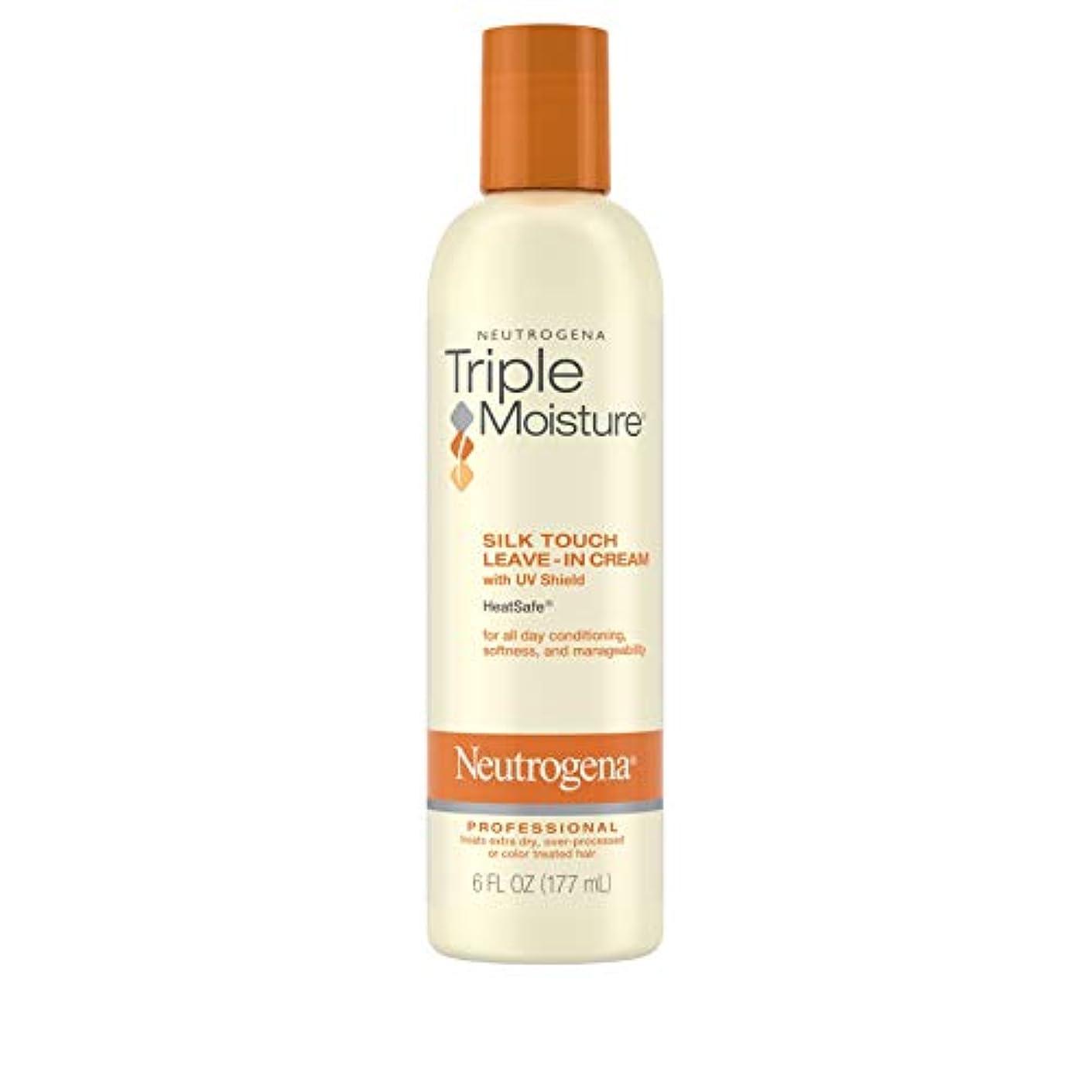 傾向がありますポルノ保証Neutrogena Triple Moisture Silk Touch Leave-In Cream 175 ml (並行輸入品)
