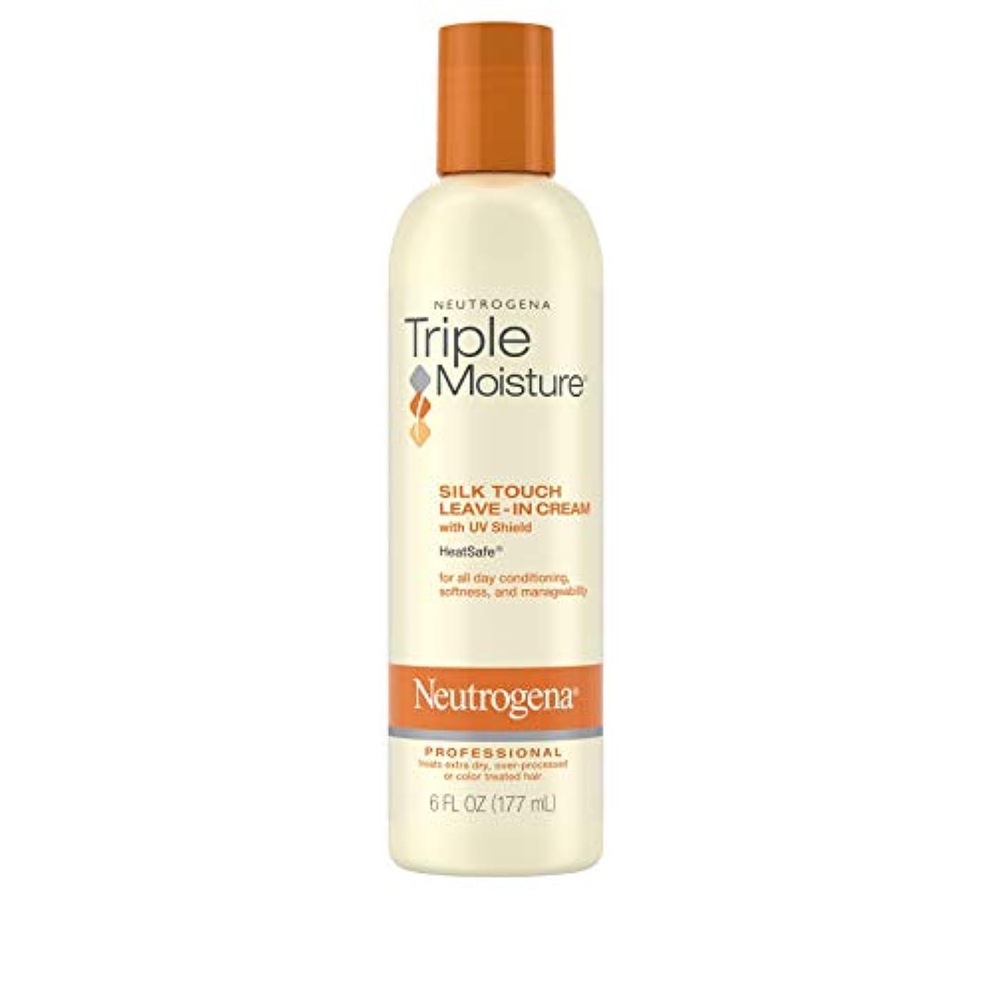 アラブ人走る再発するNeutrogena Triple Moisture Silk Touch Leave-In Cream 175 ml (並行輸入品)