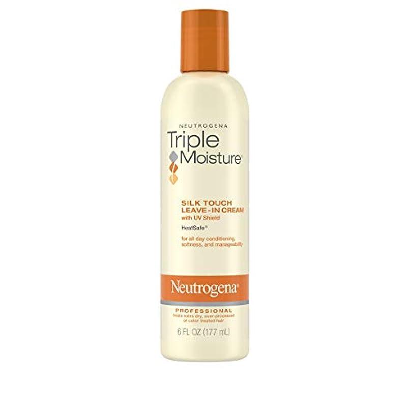 通訳レイトロピカルNeutrogena Triple Moisture Silk Touch Leave-In Cream 175 ml (並行輸入品)
