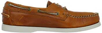 Horween Docksides: B720004 Bright Orange