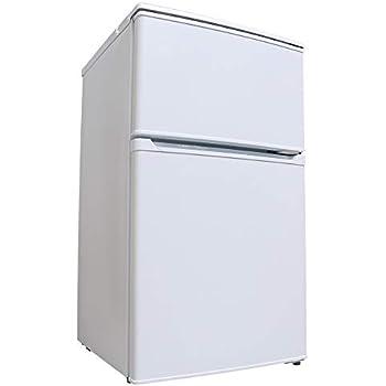 アイリスオーヤマ 冷蔵庫 90L 2ドア 右開き 温度調節6段階 省エネ ホワイト IRR-A09TW-W