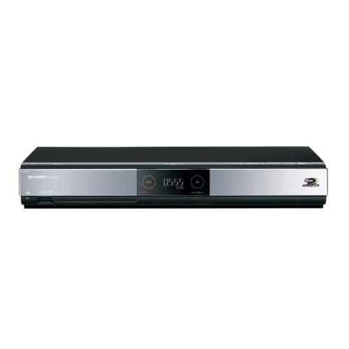 SHARP AQUOS ブルーレイディスクレコーダー 500GB ダブルチューナー BD-HDW55