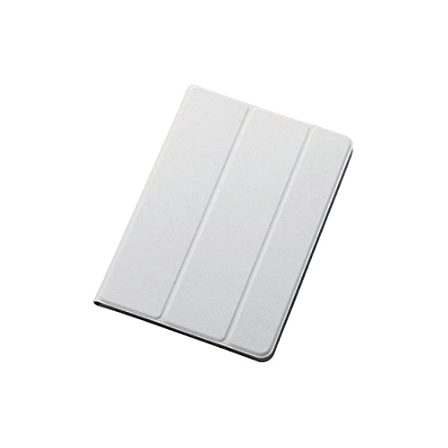 異常飼い慣らす立ち向かうエレコム iPad mini3 フラップイタリアンレザーカバー スリープ対応 ホワイト TB-A14SWDTWH