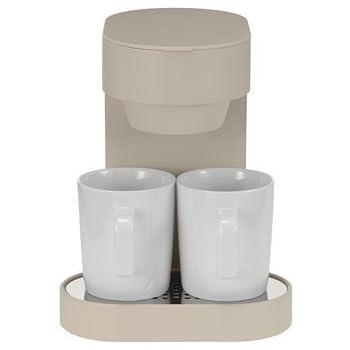 ±0 Coffee Maker 2Cup プラスマイナスゼロ コーヒーメーカー 2カップ [ ベージュ/XKC-V110(C) ]