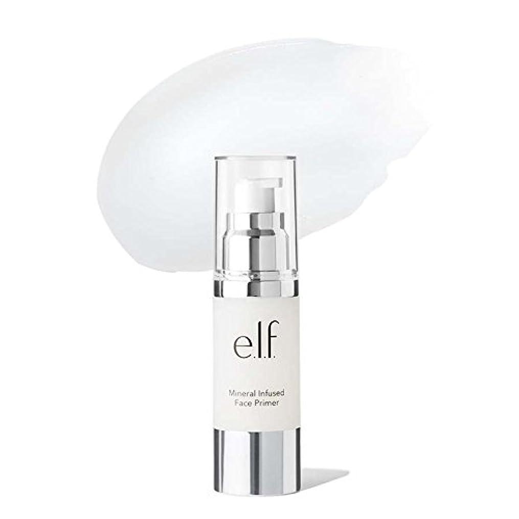 みなさんレーニン主義振動させる(6 Pack) e.l.f. Mineral Infused Face Primer Large - Clear (並行輸入品)