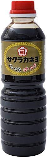 吉村醸造 サクラカネヨ ゴールド 醤油 500ml ×2本